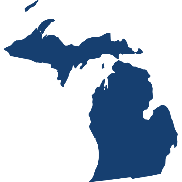 Michigan State Map Aba Treatment Trumpet Behavioral Health